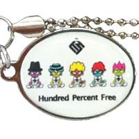 Hundred Percent Free   Hundred Percent Free オフィシャルグッズ ストラップ