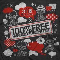 100%FREE | 366僕らのDAYS Tシャツ 黒 L