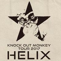"KNOCK OUT MONKEY | KOM TOUR 2017 ""HELIX""ショルダートート"