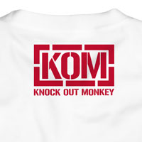 KNOCK OUT MONKEY | KOM Star Tシャツ[White]