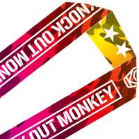 KNOCK OUT MONKEY | KOM ネックストラップ