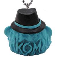 KNOCK OUT MONKEY | KOM ウーキーキーホルダー[Light Blue]