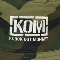 KNOCK OUT MONKEY | バケットハット -迷彩-
