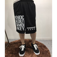 KNOCK OUT MONKEY | メッシュハーフパンツ