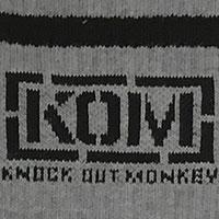 KNOCK OUT MONKEY | ソックス  [グレー]