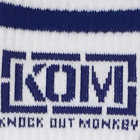 KNOCK OUT MONKEY | ソックス [ブルー]