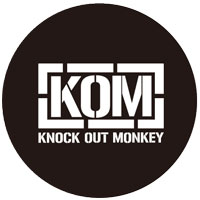 KNOCK OUT MONKEY | ポップソケッツ [BLACK]