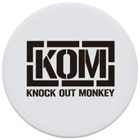 KNOCK OUT MONKEY | ポップソケッツ [WHITE]