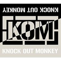 KNOCK OUT MONKEY | ツートンカラータオル -White&SoftGray-