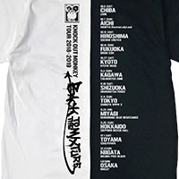 KNOCK OUT MONKEY   BACK TO THE MIXTURE ツアーTシャツ