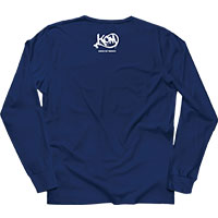 KNOCK OUT MONKEY | BACK TO THE MIXTURE ロンT [Navy]