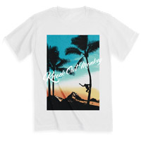 KNOCK OUT MONKEY   SUMMER Tシャツ[White]