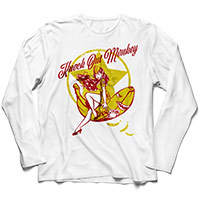 KNOCK OUT MONKEY | Pin-up Girl L/S Tee