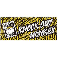 KNOCK OUT MONKEY | 鬼猿タオル