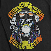 KNOCK OUT MONKEY   APPETITE FOR dEnkA Tシャツ