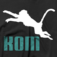 KNOCK OUT MONKEY | L/S Tee [シルエット]