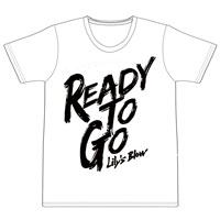 Lily's Blow   Ready to go Tシャツ(ホワイト)