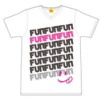 倉木麻衣 | ライブハウスツアー2014 VネックTシャツ/White