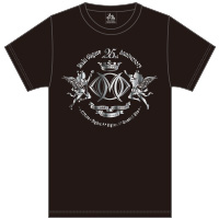 大黒摩季 | Live–STEP!! SeasonII メインロゴTシャツ(BLACK&SILVER箔)
