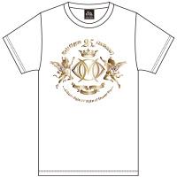 大黒摩季 | Live–STEP!! SeasonII メインロゴTシャツ(WHITE&GOLD箔)