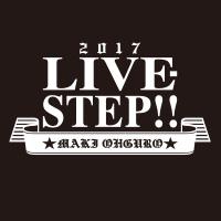 大黒摩季 | Live–STEP!! Tシャツ(BLACK)