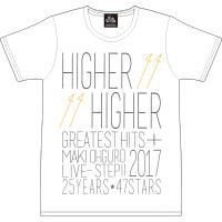 大黒摩季 | Live–STEP!! Tシャツ(WHITE)