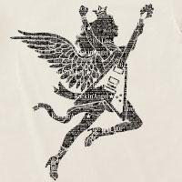 大黒摩季 | Maki Ohguro 2016 Live-HOP! VネックTシャツ/Rockin' Angel(OFF WHITE)
