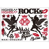 大黒摩季 | Maki Ohguro 2016 Live-HOP! タトゥーシール
