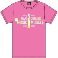 大黒摩季 | RESTING MUSCLE SURF Tシャツ(PINK)XSサイズ