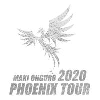 大黒摩季 | PHOENIX TOUR 2020 Tシャツ (ホワイト)