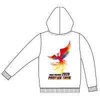 大黒摩季 | PHOENIX TOUR 2020 プルオーバーパーカー (ホワイト)