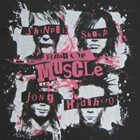 MUSCLE ATTACK | 〜Road Of Muscle〜 Tシャツ