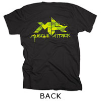 MUSCLE ATTACK | 〜Attack All Around〜 Tシャツ