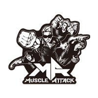 MUSCLE ATTACK | 〜Attack All Around〜 ステッカー5枚セット