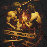 MUSCLE ATTACK | 〜HERCULES ROAD〜 Tシャツ