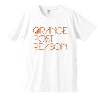 ORANGE POST REASON | OPR ロゴTシャツ 【ホワイト】