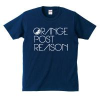 ORANGE POST REASON | OPR ロゴTシャツ 【ネイビー】