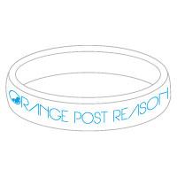 ORANGE POST REASON | OPR ラバーバンド 【ホワイト】