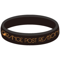 ORANGE POST REASON | OPR ラバーバンド 【ブラック】