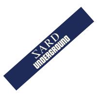 SARD UNDERGROUND | ロゴマフラータオル(ネイビー)