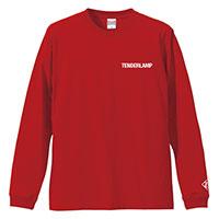 TENDERLAMP | TENDERLAMPロングTシャツ(Red)