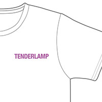 TENDERLAMP | TENDERLAMP T Shirt (White)
