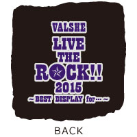 VALSHE | LIVE THE ROCK!! 2015 リストバンド