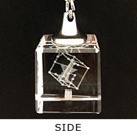 VALSHE | THE Quizzical BOX 3Dクリスタルキーホルダー