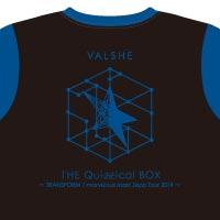 VALSHE | THE Quizzical BOX Tシャツ