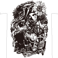 VALSHE | OUROBOROS -FANG&TAIL- BIG Tシャツ[Type:FANG]