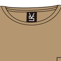VALSHE | [UNplugged DocumeNts.] BIG Tシャツ(サンドカーキ)