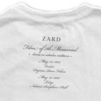 ZARD | フォトTシャツA