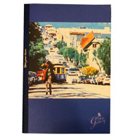 "ZARD | ""GALLERY""notebook(blue)"