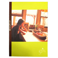 "ZARD | ""GALLERY""notebook(green)"